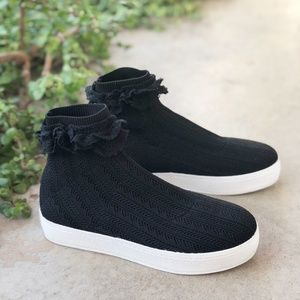 Opening Ceremony Bobby Black Sock Knit Sneakers
